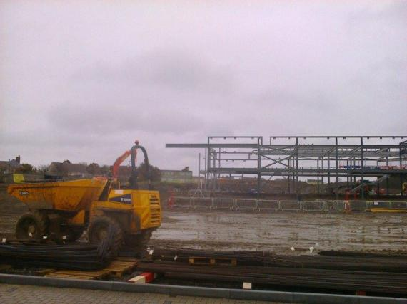 Site Progress Wick WC 06.04.2015 024
