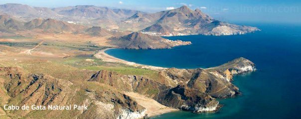 Cabo de Gata Park, Almeria, Spain where our students are soon to be working.