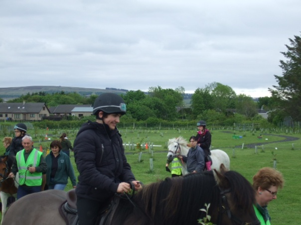 Some of our pupils enjoying their time with RDA in Halkirk