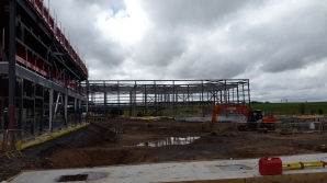 Our new school takes shape