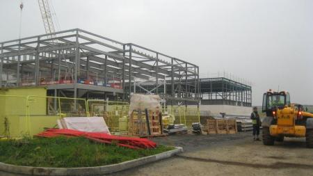 Wick High School - Site Progress October 2015