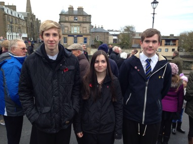 (From L to R): Max Hagan, Carly Sinclair and Danny Mackay