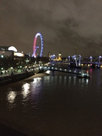 A beautiful scenic image of the Thames and London skyline