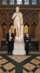 John and Konrad in Parliament