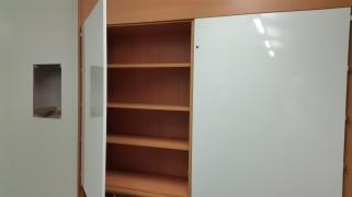 Whiteboard cupboards