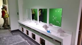 Pupil wash basins