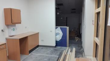 Nursery classroom kitchen