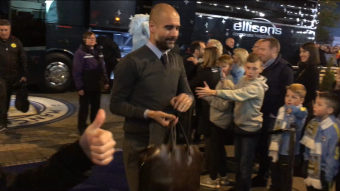 Mr Guardiola (and Mr Ross's approving thumb)