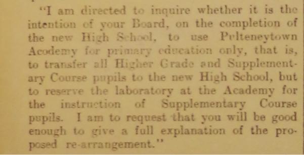 1911 John O'Groat Journal clipping