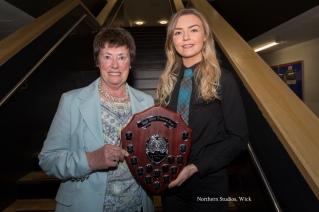 Lockie Prize Winner, Erin Anderson.